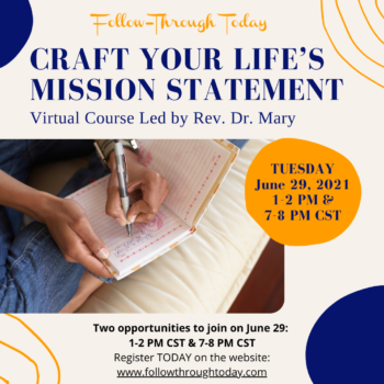 Craft Your Life's Mission Statement